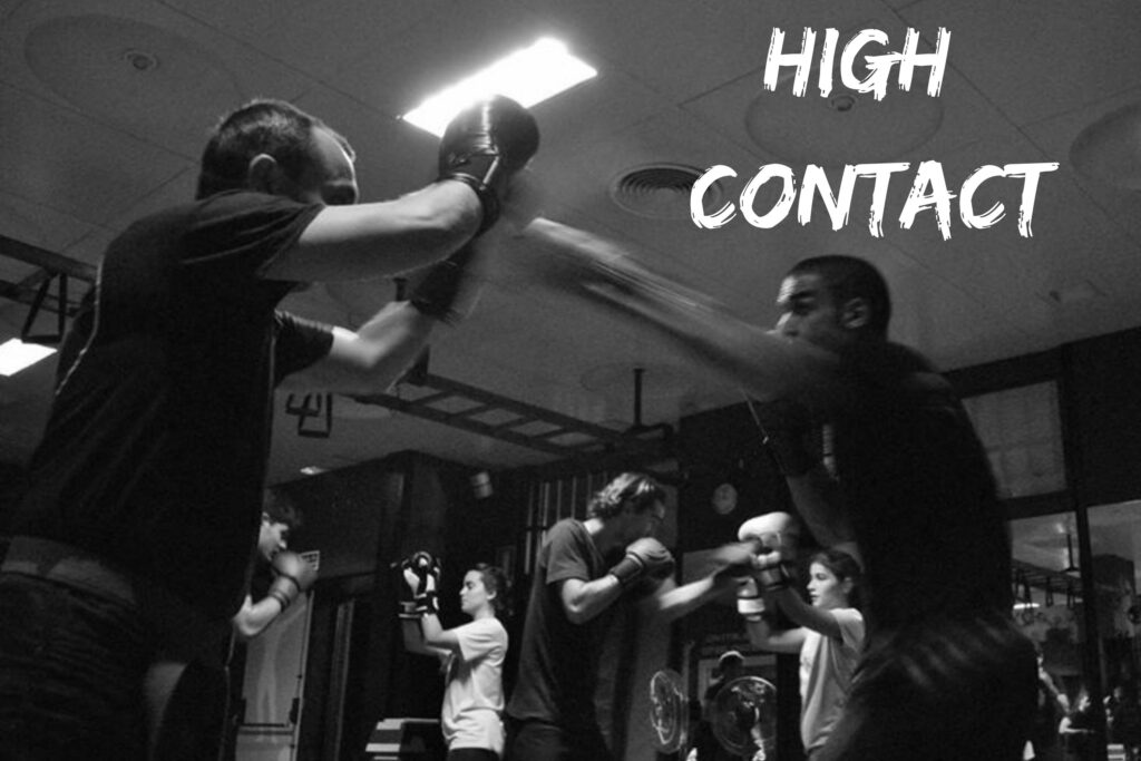 high contact mma